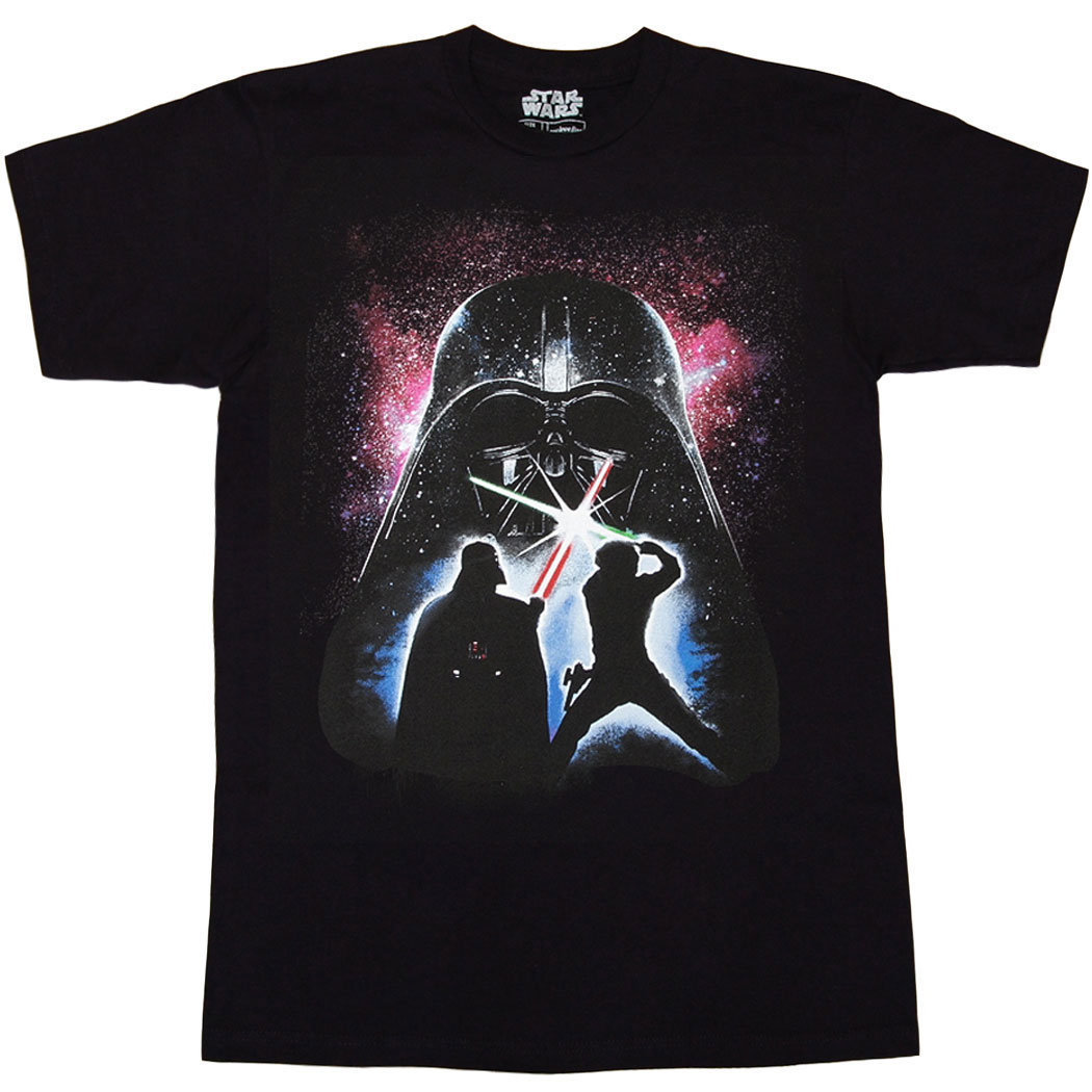 Star Wars Glowing Saber Battle T-Shirt