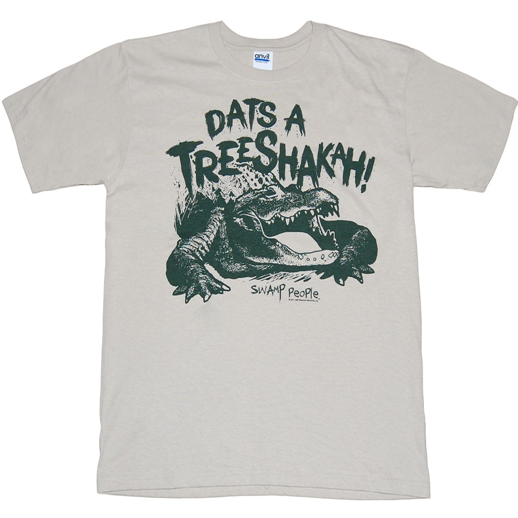Swamp People Dats A Trees Shakah T-Shirt