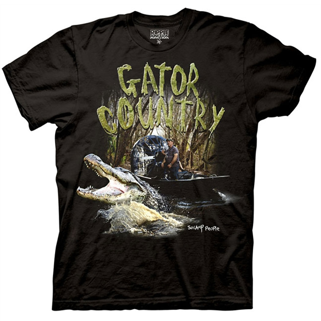 Swamp People Gator Country T-Shirt
