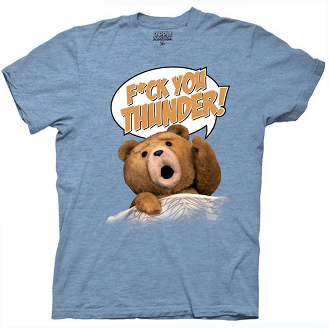 Ted F*ck You Thunder T-shirt