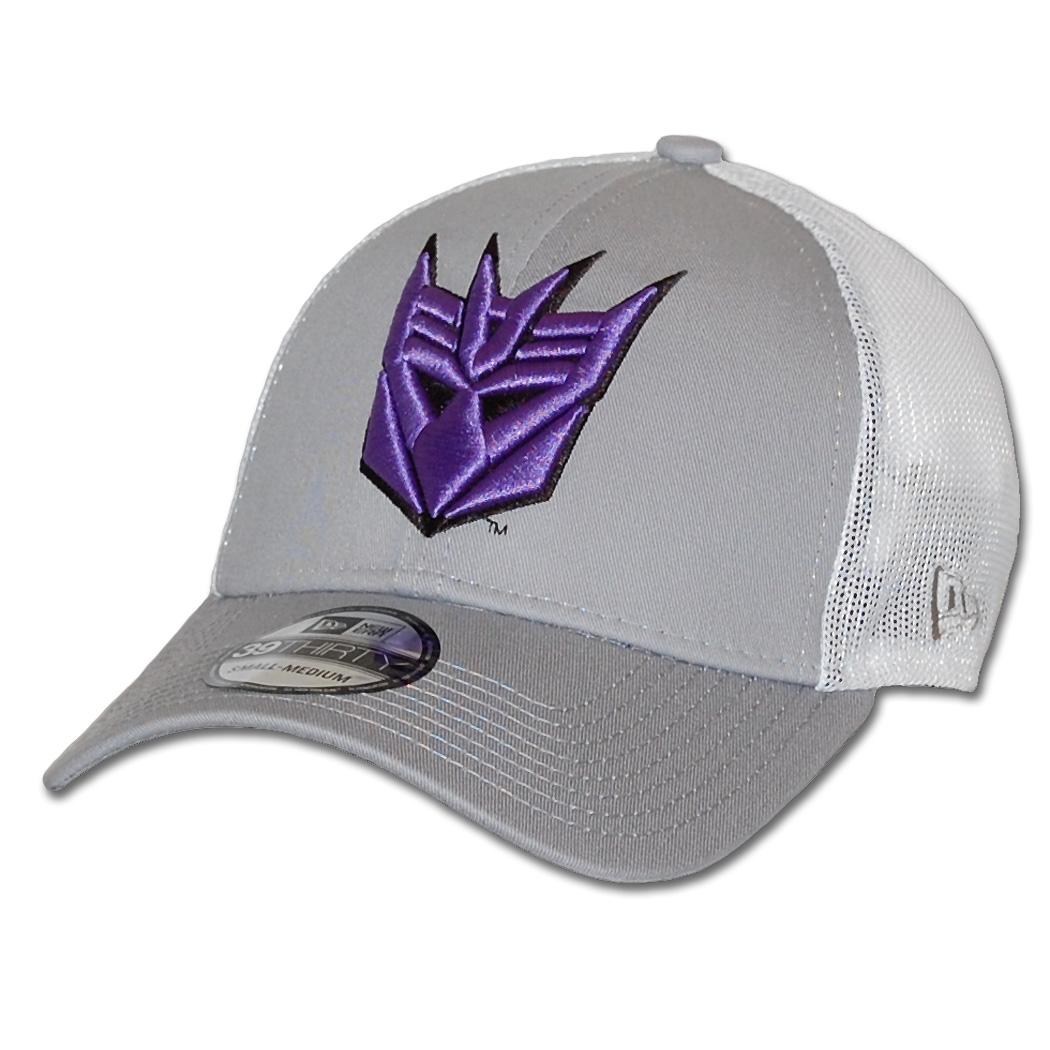 de7d6cb7 New Era Hero Mesh Transformers Decepticon Logo 39Thirty Flex Fit Hat