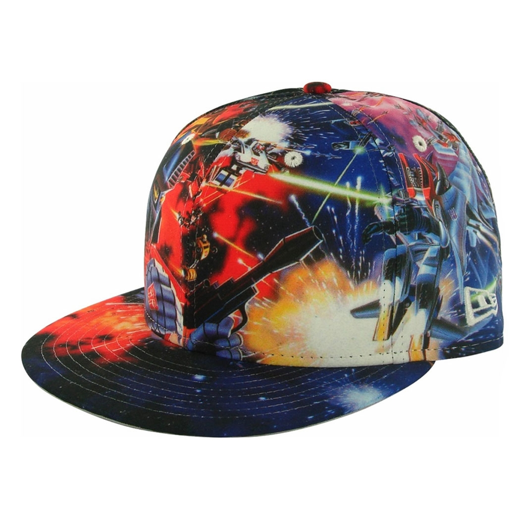 New Era All Over Battle Optimus Prime 59Fifty Hat