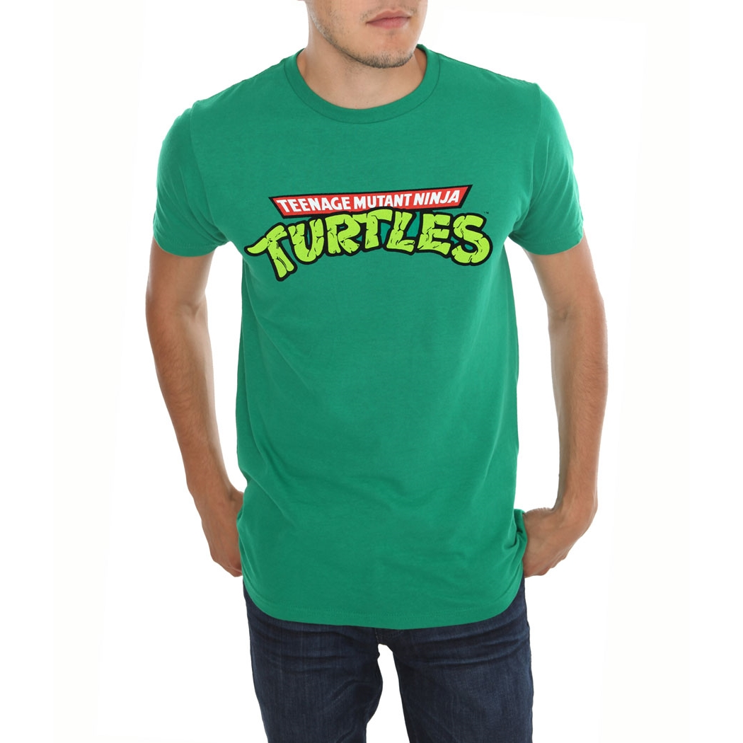 Teenage Mutant Ninja Turtles Logo Adult T-Shirt