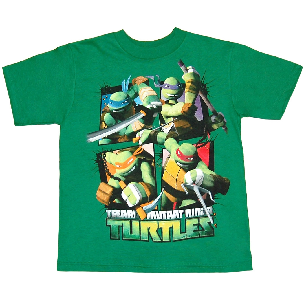 Teenage Mutant Ninja Turtles Epic Group Juvenile T-Shirt