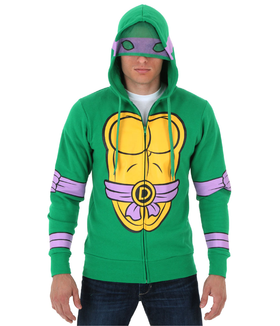 Teenage Mutant Ninja Turtles Donatello Costume Hoodie