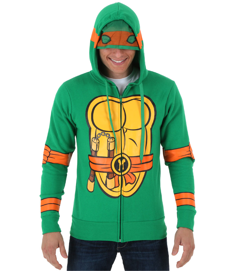 Teenage Mutant Ninja Turtles Michelangelo Costume Hoodie