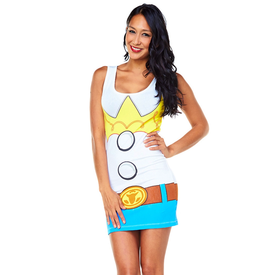 Toy Story Jesse Costume Tunic Tank Dress