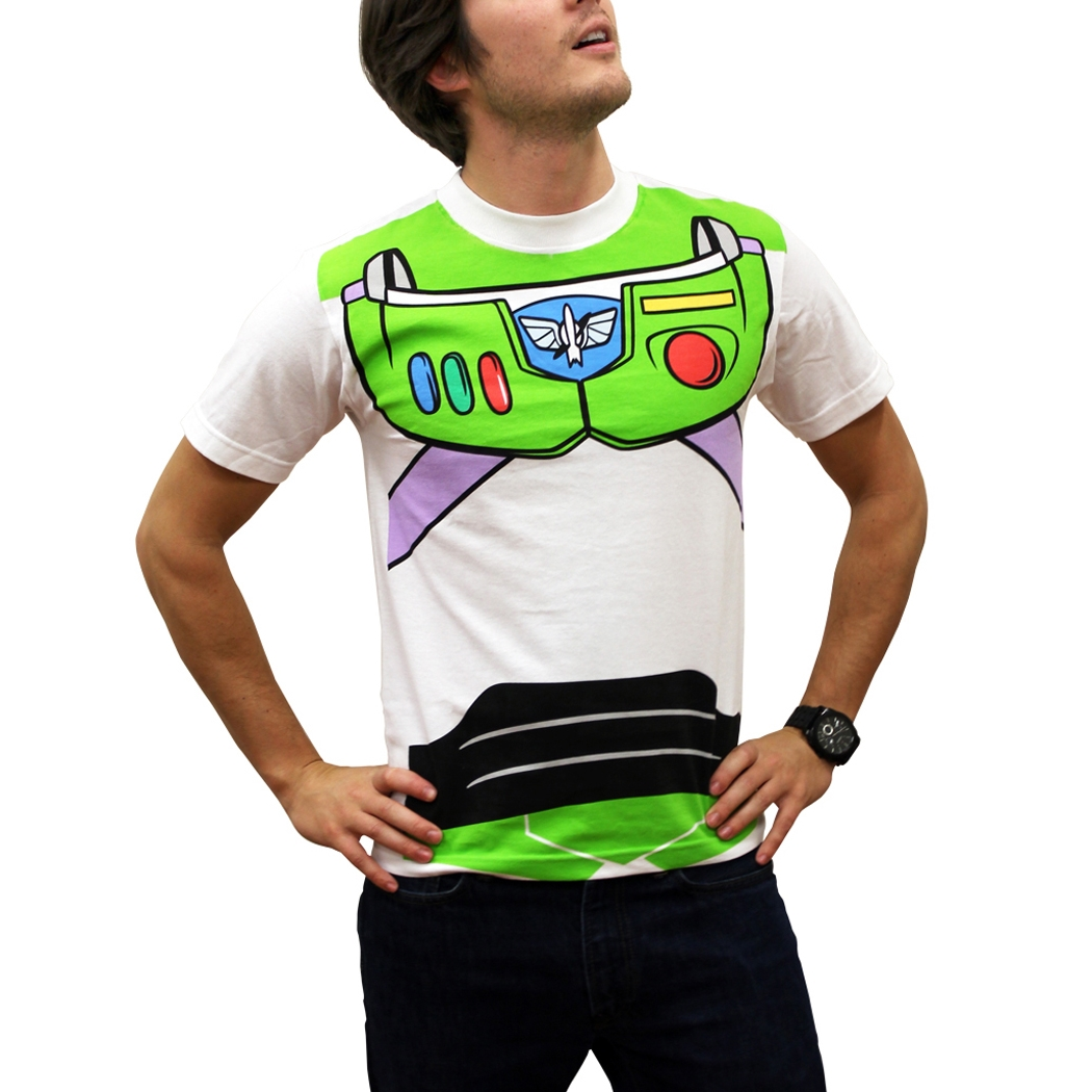Toy Story Shirts - Toy Story Buzz Lightyear Costume T-Shirt by Animation Shops  sc 1 st  Animation Shops & Toy Story Shirts - Toy Story Buzz Lightyear Costume T-Shirt by ...