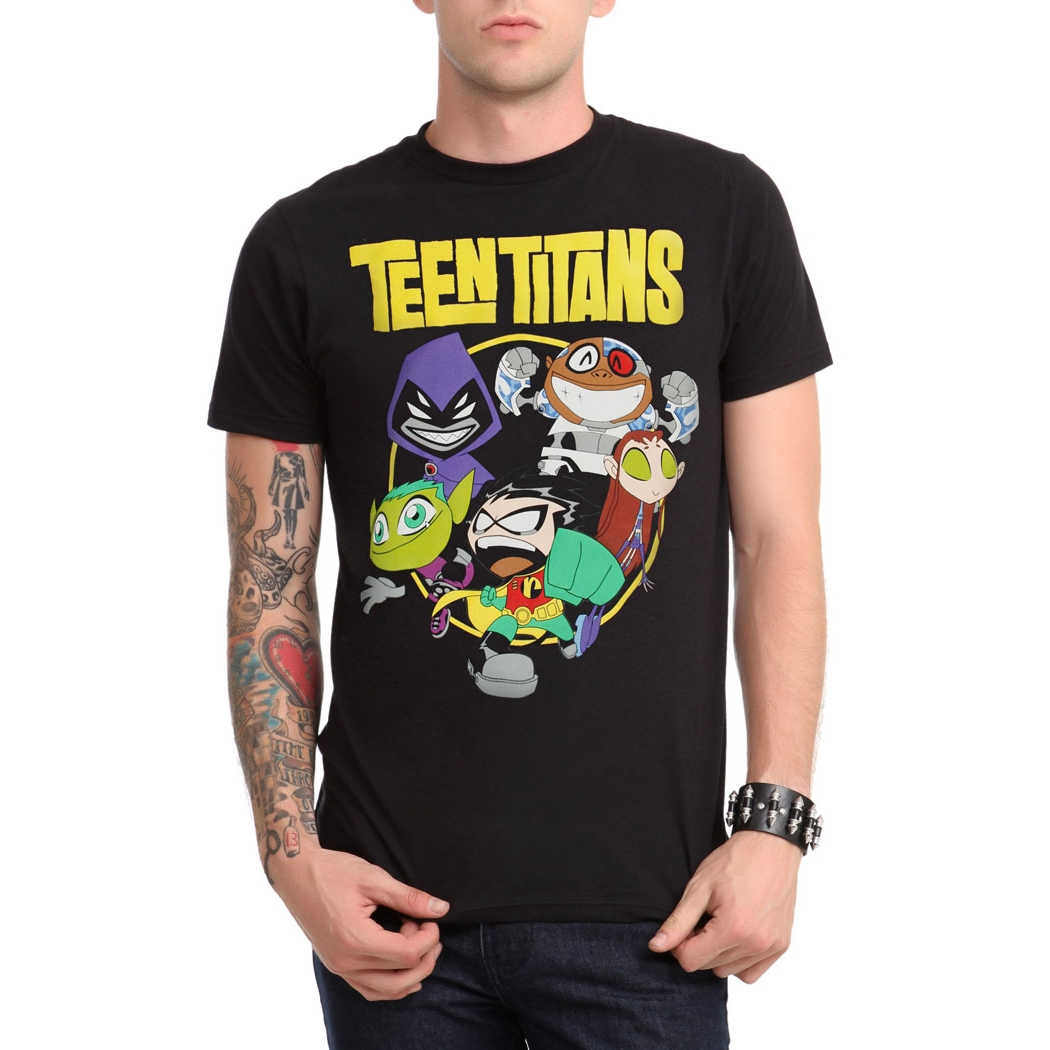 Teen Titans Group T-Shirt