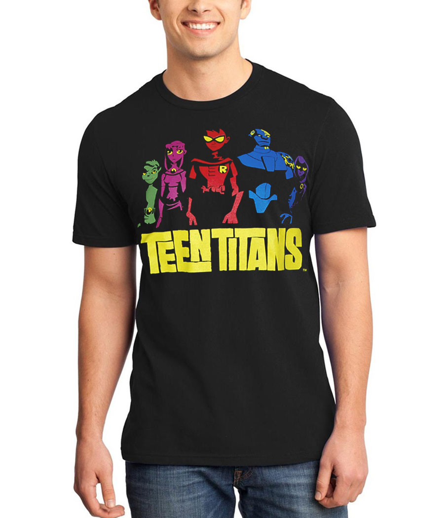 Teen Titans Color Group T-Shirt
