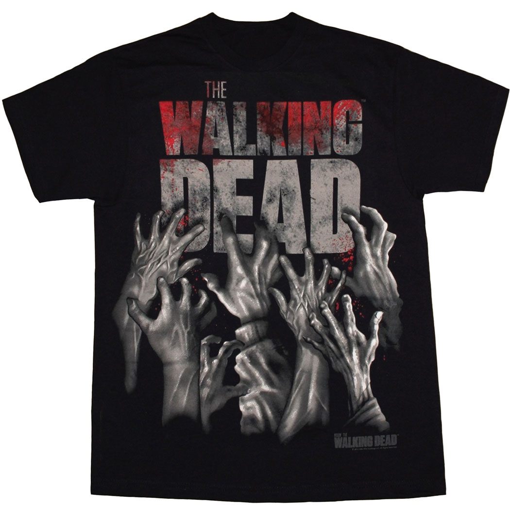 Walking Dead Hands Reaching T-Shirt