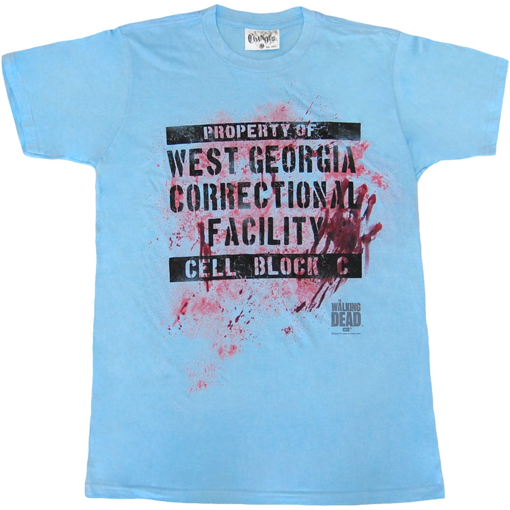 Walking Dead West Georgia Correctional Facility T-Shirt