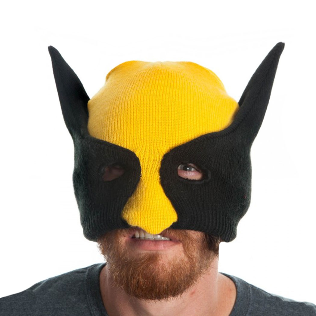 Marvel Comics Wolverine Mask Costume Beanie
