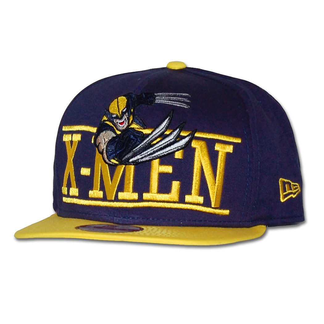 b37221ed8ad4e New Era Caps - New Era Wolverine Block Over 9Fifty Snapback Hat by ...