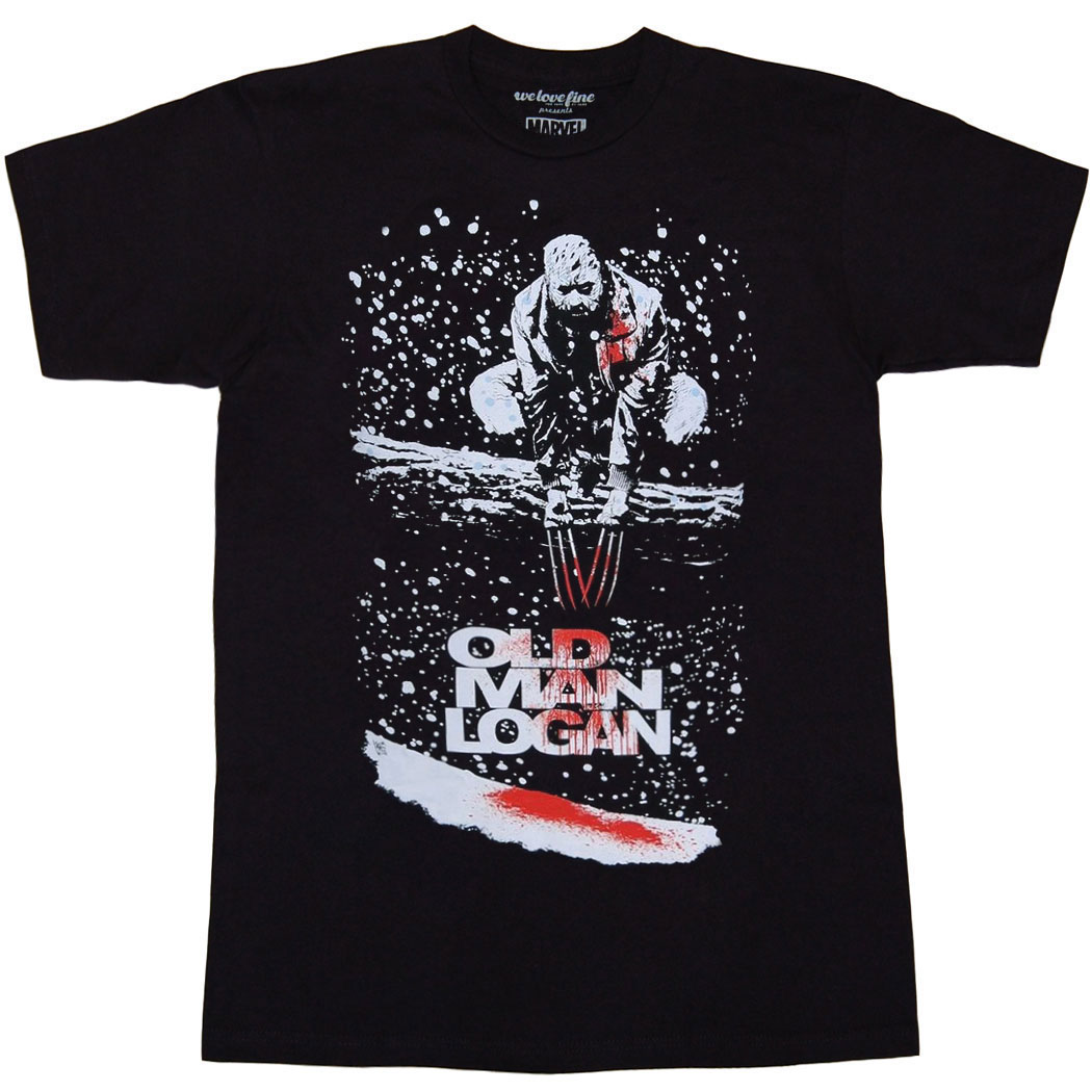 Wolverine Old Man Logan Cover #5 T-Shirt