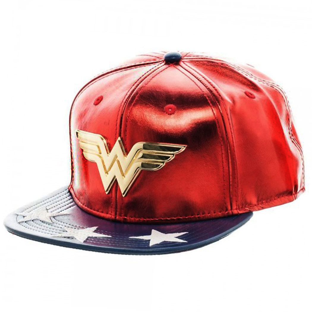 Wonder Woman Suit Up Snapback Hat