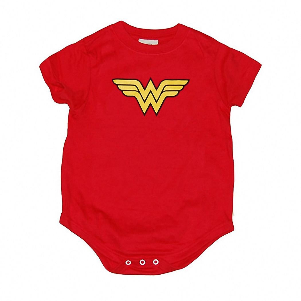 Wonder Woman Classic Logo Infant Romper