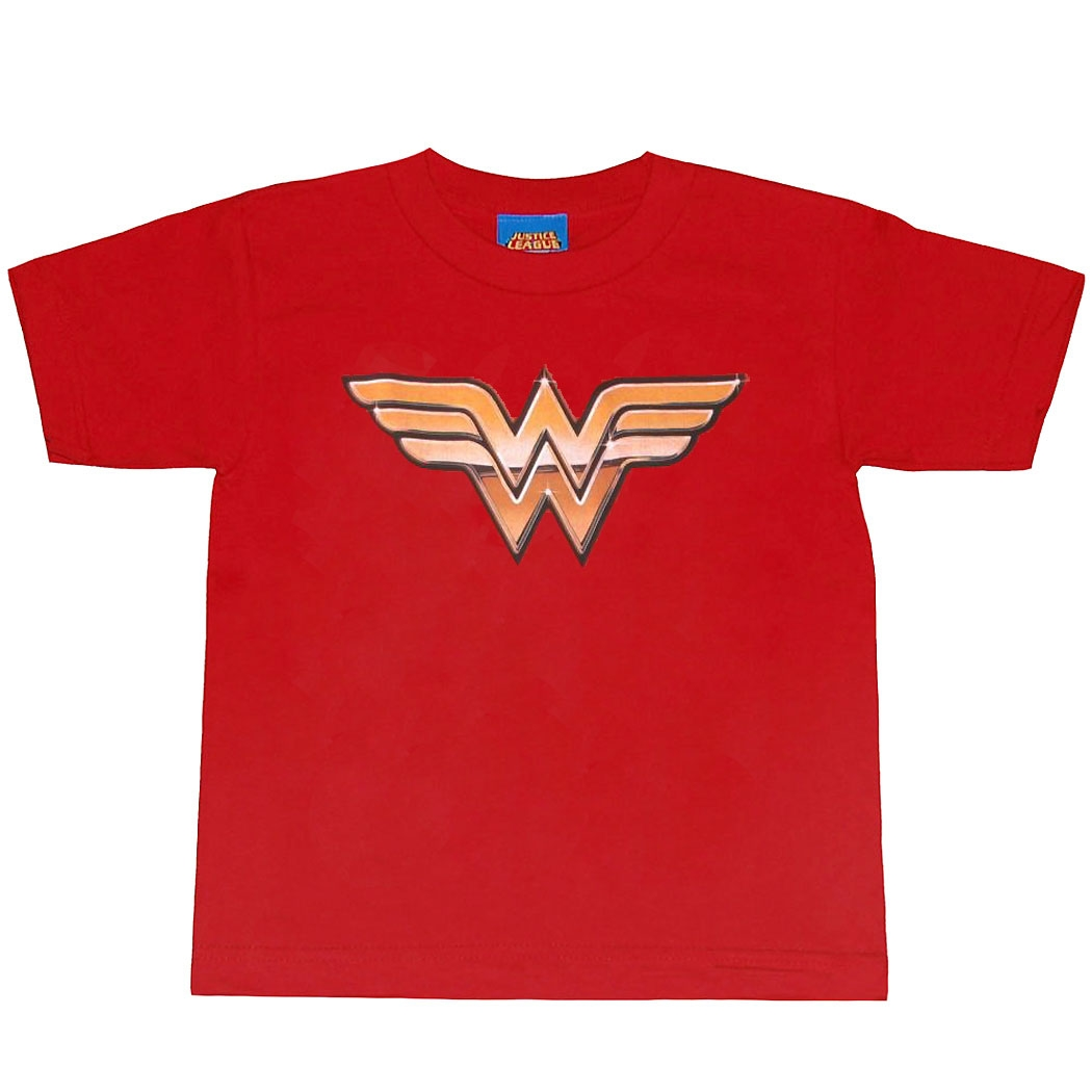 Wonder Woman Golden Symbol Juvy Kids T-Shirt