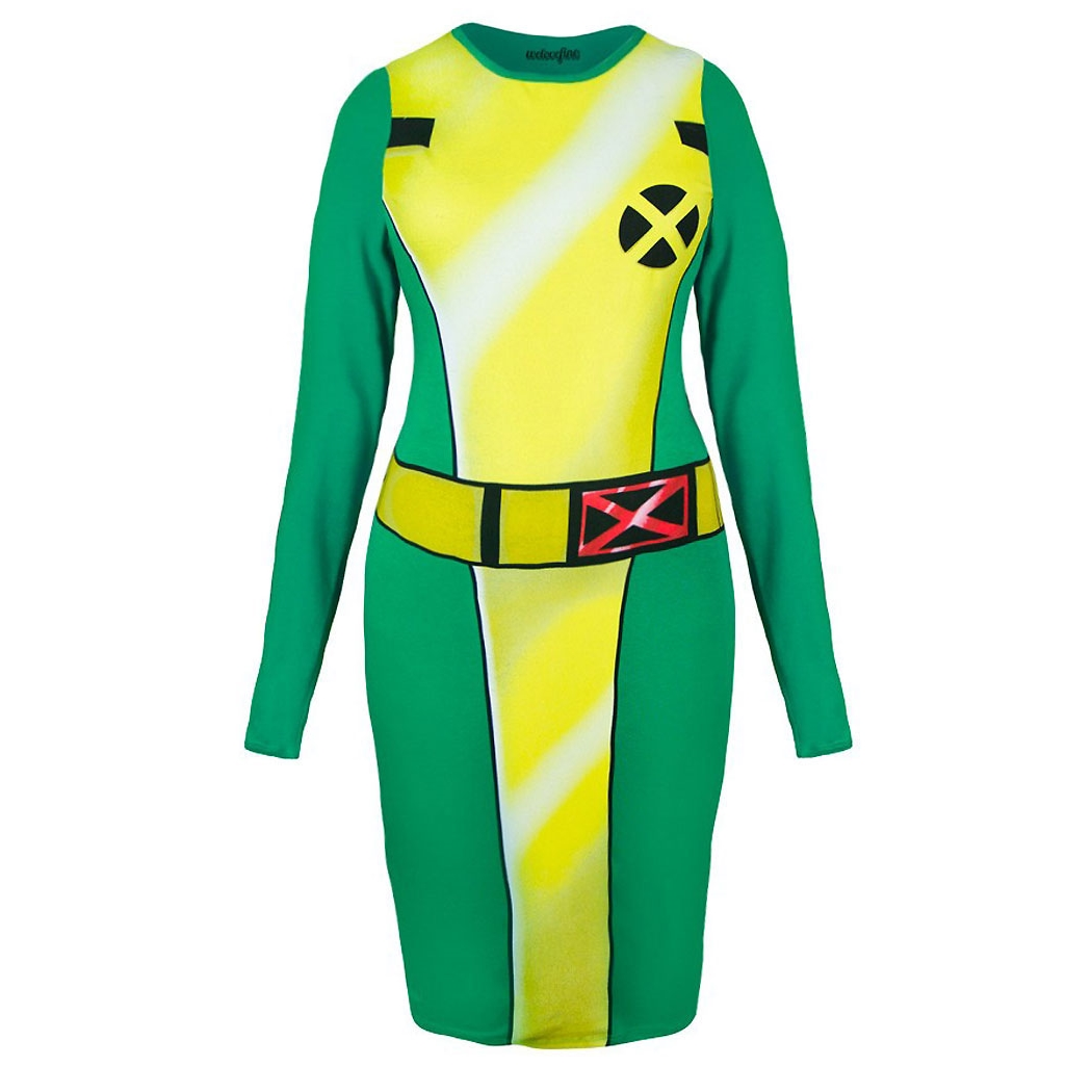 I Am Rogue Body Con Dress
