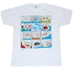 Adventure Time Many Faces Of Finn T-Shirt