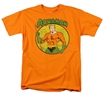 Aquaman King of Atlantis Distressed Circle T-Shirt