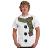 Snowman Costume Adult T-Shirt
