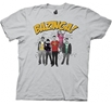 Big Bang Theory Bazinga Group T-Shirt