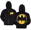 Batman Symbol Zip-Up Hoodie