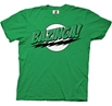 Big Bang Theory Bazinga Green T-Shirt