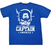 Sketch Captain America T-Shirt