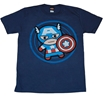 Marvel Kawaii Captain America T-Shirt
