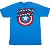 Captain America Flip Over Mask T-Shirt
