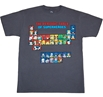 Superhero Periodic Table T-Shirt