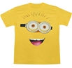 Despicable Me Minion Silly Face Adult T-Shirt