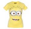 Despicable Me Minion Big Face Junior Ladies T-Shirt