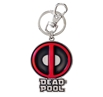 Deadpool Logo Pewter Key Chain