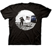 Dr. Who Tardis Moon Landing T-Shirt