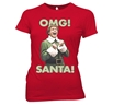 Elf OMG Santa Junior Women's T-Shirt