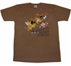Fat Albert: Brown Hornet T-Shirt