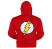 Flash Symbol Zip-Up Hoodie