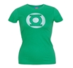 Green Lantern Distressed Symbol Junior Ladies T-Shirt