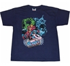 Marvel Heroes Good Vs Evil Youth T-Shirt