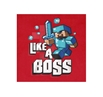 Minecraft Like A Boss Youth T-Shirt