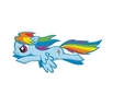 My Little Pony Rainbow Dash Patch
