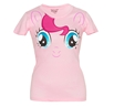 My Little Pony Pinkie Pie Big Face Junior Ladies T-Shirt