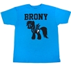 My Little Pony Rainbow Dash Brony Turquoise T-Shirt