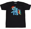 My Little Pony 8 Bit Rainbow Dash T-Shirt