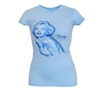 Marilyn Monroe Blue Dress Junior Tee