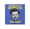 Parks and Recreation Ron Swanson Bacon and Eggs T-Shirt