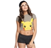 Pokemon Pika Peek Junior Crop Top